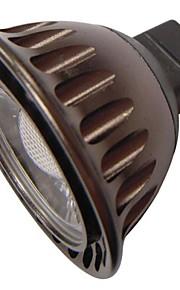 qslighting® MR16 (gu5.3) 3W 1xcob 240lm חם זרקור אור / מגניב לבן (AC / DC 12V)