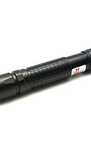 LT-YWA03 Zoom Light Match grøn laser pointer (1MW, 532nm, 1x18650, Sort)