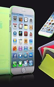 DF의 초박형 0.3mm의 아이폰 6 (모듬 된 색상)에 대한 다채로운 스크럽 PP 케이스