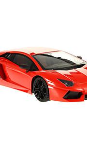 gettop 1/12 skala rc bil legetøj med lys&musik (tilfældig farve)