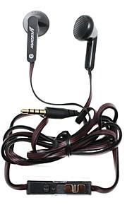 Yuedian m-230 écouteurs de 3,5 mm salut-fi volume de la musique contrôlable dans l'oreille pour l'iphone + téléphone intelligent plus