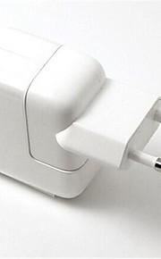 eu plugg usb rese port ac laddare med 8-pin laddningssynkdatakabel för iphone 5 / 5s ipad mini / luft (110v-240v, 2.1a)