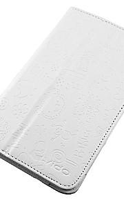 mode pu vouwen folio beschermhoes dekking voor Vido / Yuandao n70 3g tablet 2-kleuren