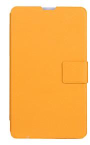 beschermende pu lederen harde full body case voor de vido n70 3g met screen protector 2-kleuren
