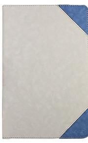 pu leer beschermende harde full body case voor Vido m10 wit
