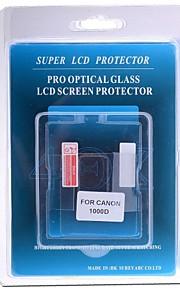 professionel LCD-skærm protektor optisk glas specielt til Canon 1000D dslr kamera