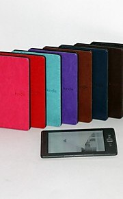 Original Design Crazy Horse Style Leather Cover Case for Kindle 4/5