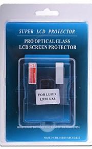 protetor de tela LCD profissional de vidro óptico especial para Lumix LX3 câmera DSLR / lux4