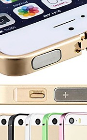 dsb® 프리미엄 항공기 알루미늄 0.7 mm 초 아이폰 5 / 5 초 얇은 슬림 프레임 범퍼 케이스 커버 (모듬 색상)
