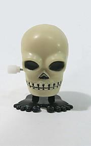 halloween gaver leverer plast på kæden hoppe kranium tricky legetøj