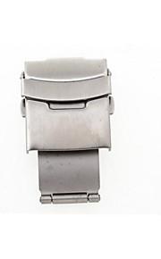liga de dupla dobra sobre fecho de fivela dobrável para faixa de relógio pulseira de implantação 22 milímetros