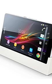 bianco dk26 tavolo dock di ricarica supporto caricabatteria per Sony Xperia z / lt36h