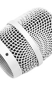Liangyun U-4500 hvid mikrofon mesh kabinet til trådløs mikrofon