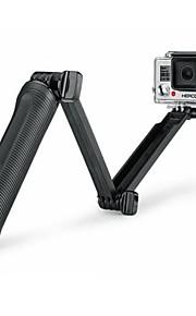 Super Multi-function 3-way Mount Monopod Tripod Grip for GoPro Hero5 GoPro Hero4 /Hero3 + /3 /SJ 5000/4000