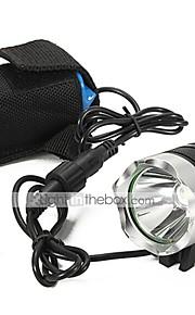Belysning LED Lommelygter Lommelygter LED 2200 Lumen 3 Tilstand Cree XM-L U2 18650 Vanntett GenopladeligCamping/Vandring/Grotte