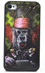 아이폰 4 / 4S에 대한 toophone® joyland 원숭이 얼굴과 뒷면 케이스