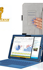 """verlegen beer ™ kant houder stijl lederen beschermhoes voor de Microsoft Surface Pro 3 12 """"tablet"""