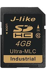 cartão de memória SD de 4GB SDHC ultra-MLC chip de grau industrial j-like®