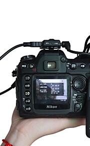 gps micnova geotag unidade do adaptador e cabo de disparo do obturador para Nikon D7000 D7100 câmeras DSLR d90 d600 d800 d700 D3200