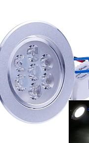Taklys Innfelt retropassform 7PCS Integrert LED 700-750 lm Kjølig hvit Dekorativ AC 85-265 V