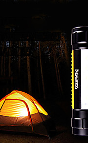 Walson Outdoor Cree Q5 and 5*LED Warnning Light Camping Light(400LM,1*18650/3*AAA,Black)