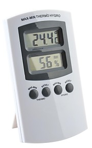 Miec LCD Display Double Screen/Multi-Purpose Temperature And Humidity Meter