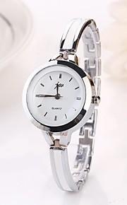 Mulheres Relógio de Moda Quartzo Lega Banda Prata Prata Dourado