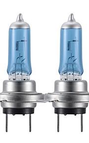 H7 100W Super White HID Xenon Halogen Bulb Headlight for Cars (DC 12V/pair)