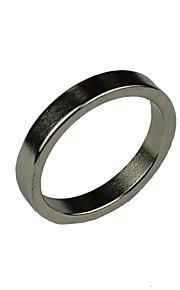 magic adereços simples anel de prata mágica magnética brilhante