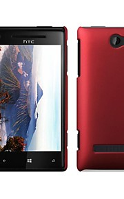 Para Funda HTC Congelada Funda Cubierta Trasera Funda Un Color Dura Policarbonato HTC