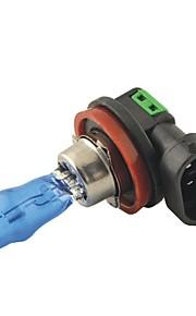 Carking™ HOD H11 100W 6000K Ultra Bright Car Warm White Light Bulbs (DC 12V/Pair)