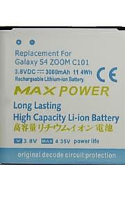 vervangende 3000mAh 3.8V batterij voor Samsung Galaxy S4 zoom / C101 / C1010