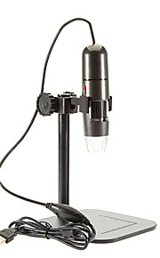 Adjustable 8 LED 1000X USB Digital Microscope Endoscope Loupe Otoscope Magnifier with Stand