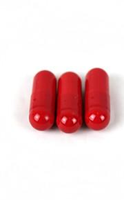 complicadas boca brinquedo cápsulas de sangramento - vermelho
