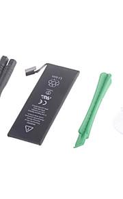1560mah 3.8 v li-ion batterij vervangen voor iPhone 5s met pry gereedschap - zwart