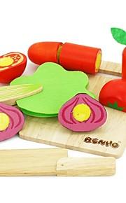 benho gummi træ grøntsag sæt træ uddannelse rolle spiller legetøj
