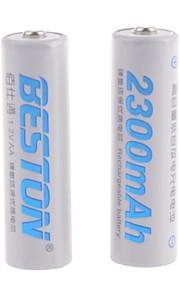 BESTON - Ni-CD - Aa - Batterij - 2300mAh - ( mAh ) - 2 - pcs