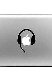 hat-prince hodetelefon designet utskiftbare dekorfolie som klistres for MacBook Air / pro / pro med retina-skjerm