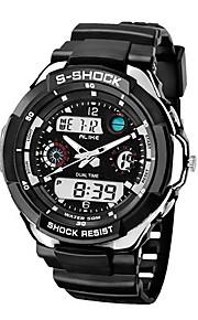 Relógio Esportivo (LED/Calendário/Resistente à Água/Dois Fusos Horários) - Digital - Mecânico