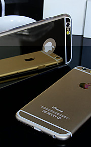iPhone 6 Plus - Cover-Rückseite - Spezielles Design ( Grau/Gold/Silber , TPU/Andere/Kunststoff )