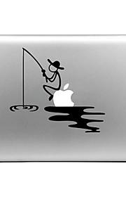hat-prince fiske designet utskiftbare dekorfolie som klistres for MacBook Air / pro / pro med retina-skjerm