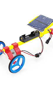 Kreative gaver Assembled Toy Solar Car Model Pædagogisk Legetøj