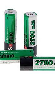 Ni-MH - Aa - Batterij - 2700 - ( mAh ) - 4 - pcs