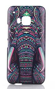 Para Funda HTC Diseños Funda Cubierta Trasera Funda Elefante Dura Policarbonato HTC