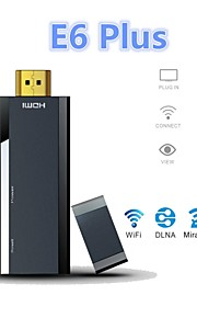 E6 Plus PTV Miracast WiFi Dongle TV Stick 1080P HDMI Streaming Media Player w/ Miracast / DLNA / Window / Airplay