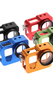 All Metal Case with 37mm Lens Cap for Gopro Hero 4(Assorted Colors)