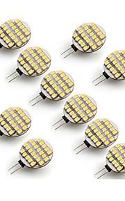 G4 - 5 Bi-pinlamper ( Warm White/Kald Hvit 500-700 lm- AC 12 V- 10 stk