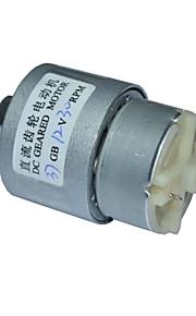 12v dc 30rpm mini-caixa de velocidades 12v motor elétrico dc 37 milímetros alto torque