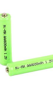 Ni-MH - Aaa - Batterij - 600mAh - ( mAh ) - 2 - pcs