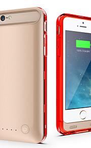 Ifans ® MFI 4000mAh iphone6 plus batterikasse ekstern aftagelig nødstrøm tilfældet for iphone6 plus (assorterede farver)